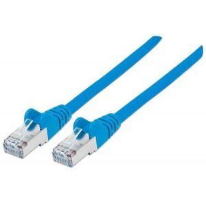 Intellinet MREŽNI KABL 0001199885 Cat6 compatible, U/UTP, 7.5m, Blue