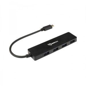 S-BOX USB HUB H 404 C