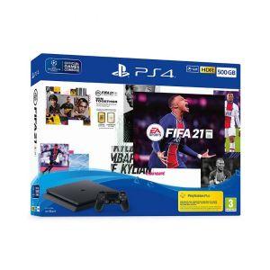 Sony KONZOLA PlayStation 4 500GB + FIFA 21/FUT VCH/PS +14 day