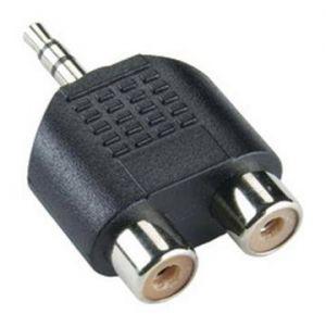 S-BOX Adapter 3,5 mm / 2 x RCA