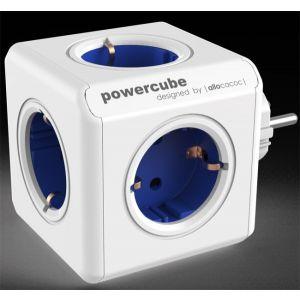 Allocacoc KABL Powercube produžni 5x šuko 16A/230V, plava 1100BL/DEORPC