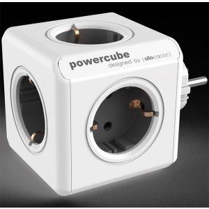 Allocacoc KABL Powercube produžni 5x šuko 16A/230V, siva 1100GY/DEORPC