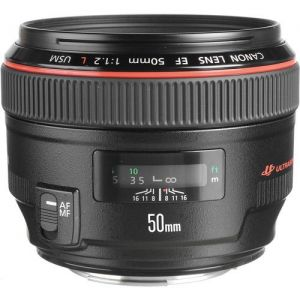 Canon OBJEKTIV STANDARD EF 50mm 1:1.2 L USM