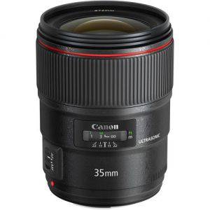Canon OBJEKTIV WIDE ANGLE EF 35mm f/1.4L II USM