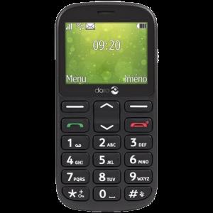 Doro MOBILNI TELEFON 1360 DS Black