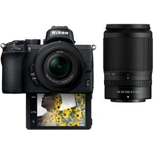 Nikon FOTOAPARAT Z50 + 16-50mm f/3.5-6.3 VR + 50-250mm f/4.5-6.3 VR