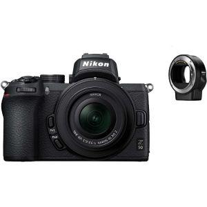 Nikon FOTOAPARAT Z50 + 16-50mm f/3.5-6.3 VR + FTZ adapter