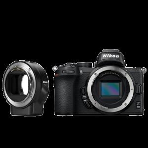 Nikon FOTOAPARAT Z50 telo + FTZ adapter