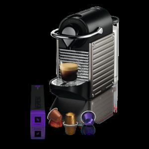 Nespresso APARAT ZA KAFU C61-EUTINE-S Pixie Electric Titan