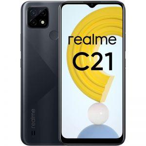 Realme MOBILNI TELEFON C21 3/32GB Crna