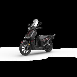 Super Soco CPX Electric Motorcycle Black (CPX-L3E)