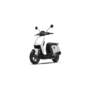 Super Soco CUX Electric Motorcycle White