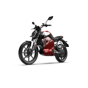 Super Soco TS-X Electric Motorcycle Red