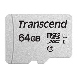 Transcend MEMORIJSKA KARTICA Micro SD 64GB Class 10 TS64GUSD300S