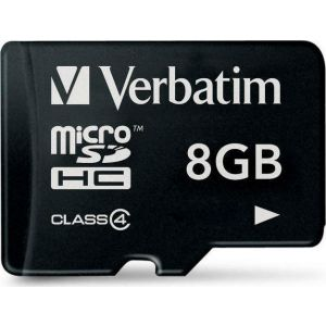 Verbatim MEMORIJSKA KARTICA Micro SDXC 8GB