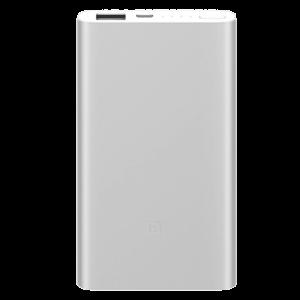 Xiaomi EKSTERNA BATERIJA 5000mAh Mi Power Bank 2 Silver