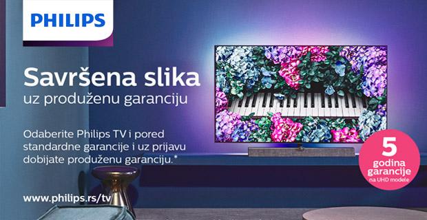 Philips TV - Promocija produžene garancije